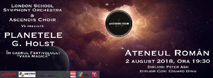 Ascendis Choir – Concert pe scena Ateneului Român