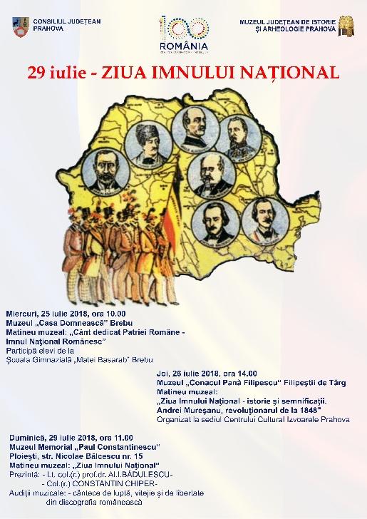 Ziua Imnului Naţional la muzeele din Prahova