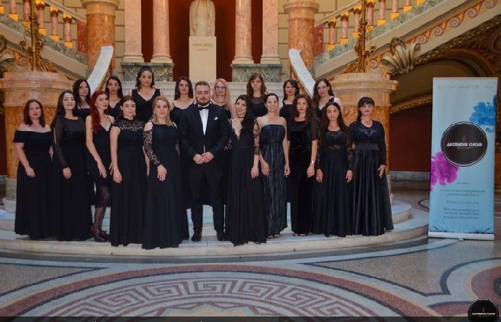 Corul de Cameră Ascendis  a susţinut joi, 2 august, un concert extraordinar pe scena Ateneului Român