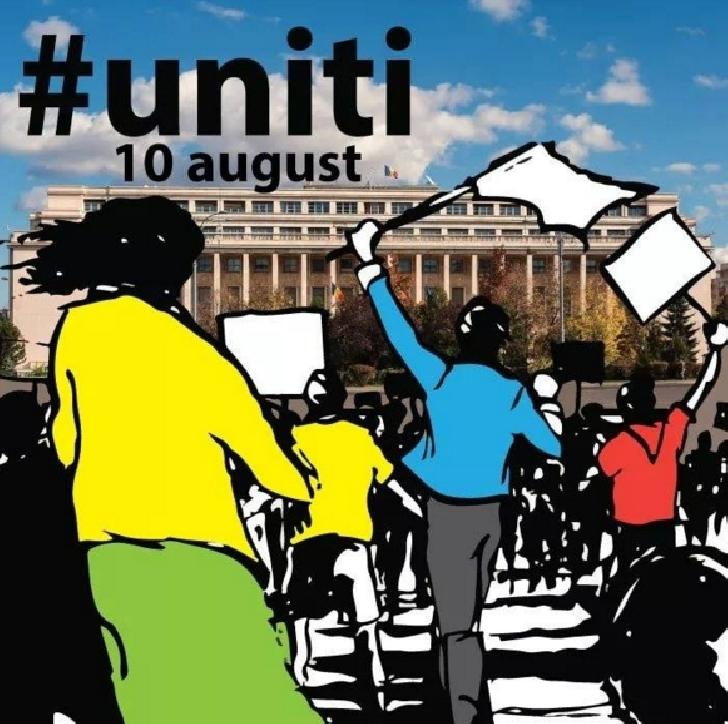 Mobilizare a ploiestenilor pentru protestul de pe 10 august 2018