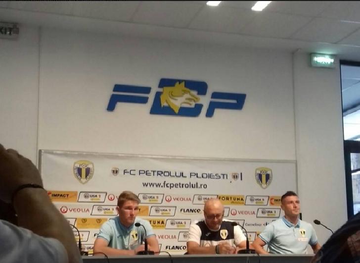 """Vine prima victorie """"acasă"""" in liga a 2 a ? Petrolul Ploiesti-Pandurii Tg.Jiu ( conferinta de presa )"""