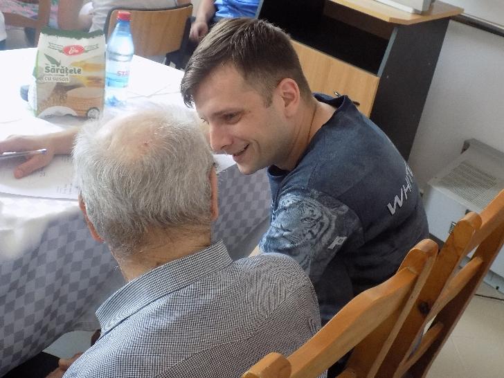 Penitenciarul Ploiesti . Vizită  la Centrul de Îngrijire şi Asistenţă Socială Persoane Adulte cu Handicap  Lilieşti - Băicoi