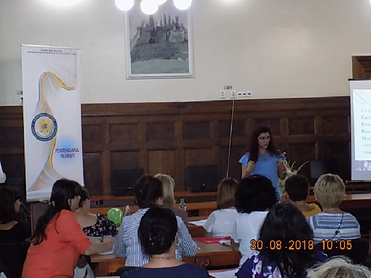 Informare de presa Penitenciarul Ploiesti -Workshop Regional