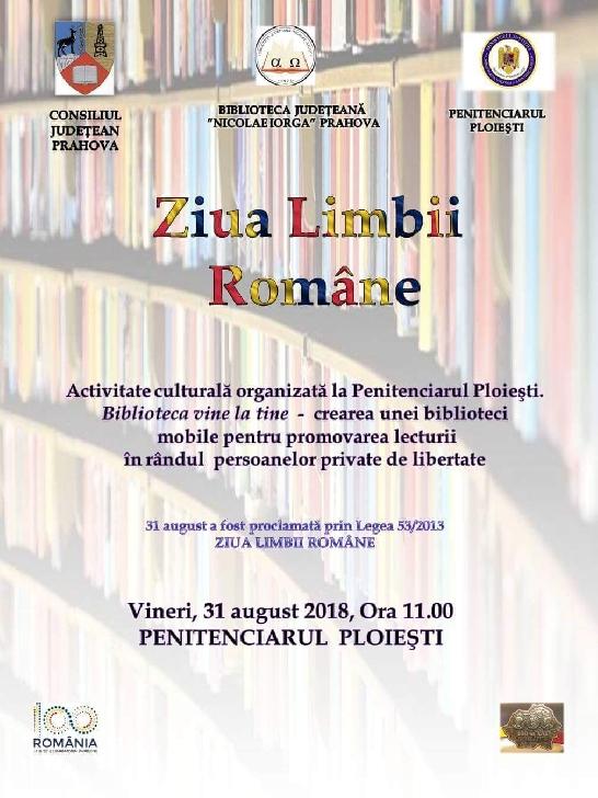 Ziua Limbii Române marcată şi  la Penitenciarul Ploieşti