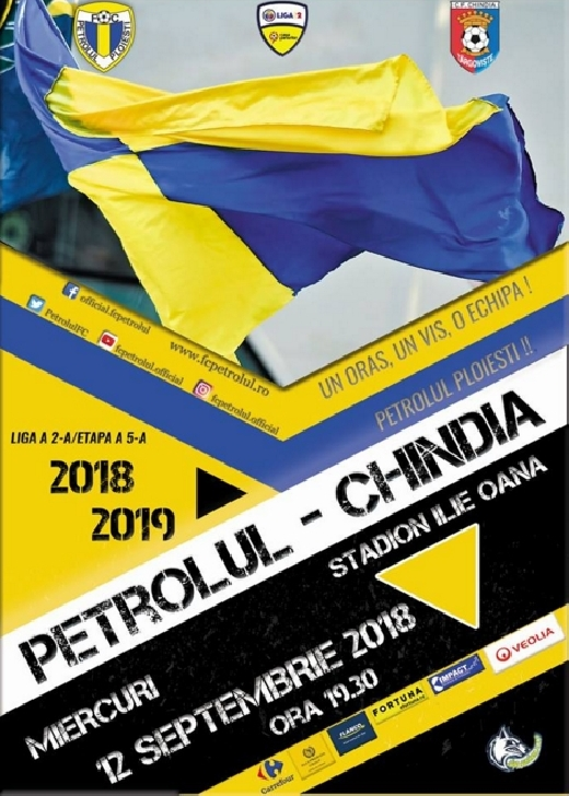 Petrolul Ploiesti a pus in vanzare biletele pentru meciul cu Chindia Targoviste