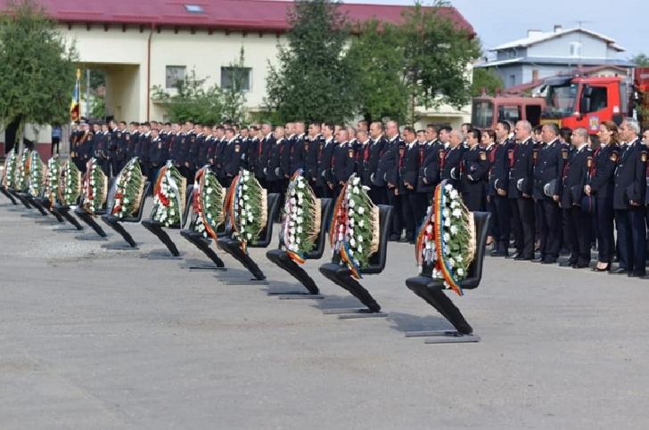 Ziua Pompierilor a fost sarbatorita si la Ploiesti