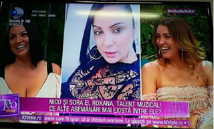 "Roxana Tataru , sora Nicoletei Matei ( Nico  ) a lansat single-ul ""Nu vreau sa plec""  (video )"