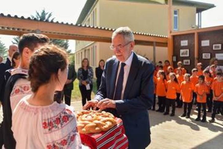 Vizita în Organizaţia Umanitară CONCORDIA a Domnului Preşedinte al Austriei Alexander Van der Bellen
