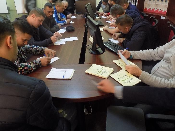 """Detinutii  de la Penitenciarul Ploiesti au participat la campania  """"Legislaţia muncii e la îndemana ta"""