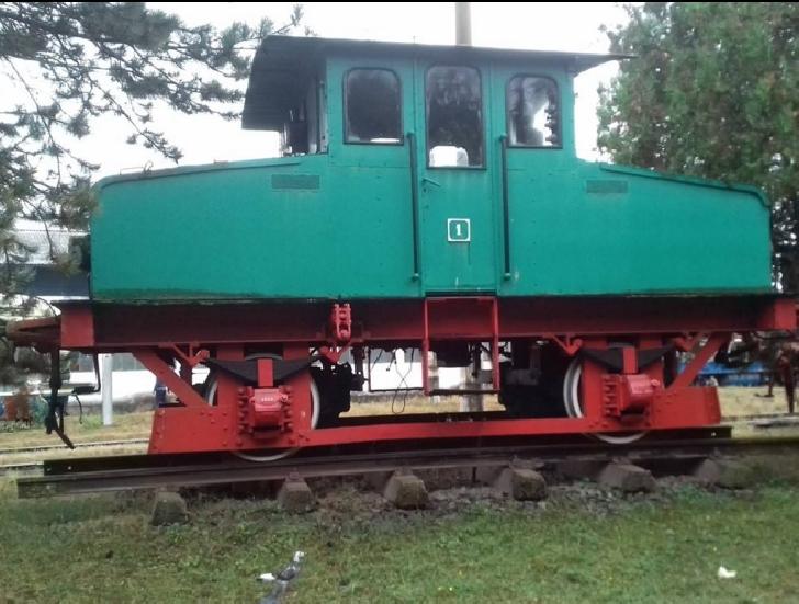 În vizită la muzeul de locomotive Dej