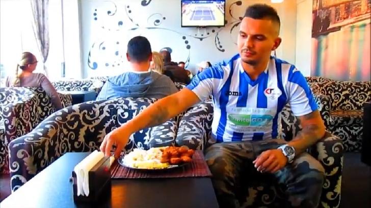 Vladimir Butufei, fostul jucător al Petrolului, joacă într-un spot publicitar pentru actuala sa echipă