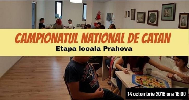 La AntiCaffe New Experience Ploiesti va avea loc etapa locala a Campionatului National de Catan