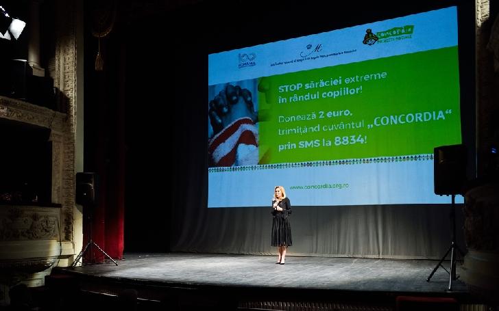 """CONCORDIA a organizat cea de-a patra ediţie a Concertului Caritabil """"Pentru ca poveştile triste să aibă un final fericit!"""""""