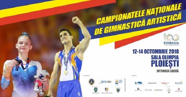 Campionatele Naţionale de gimnastică artistică 2018,in week-end la Ploiesti