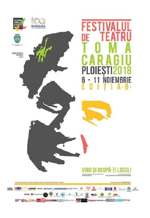 Ocupa-ti locul. S-au pus in vanzare biletele pentru a VIII-a editie a Festivalului de Teatru Toma Caragiu