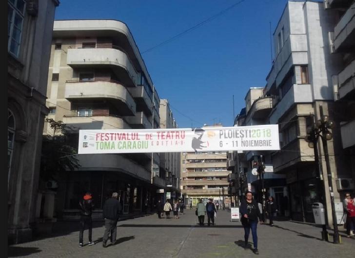 """Ocupă-ţi locul. Începe Festivalul Internaţional de teatru """"Toma Caragiu """"Ploieşti"""