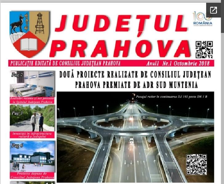 Consiliul Judetean Prahova si-a lansat propriul ziar