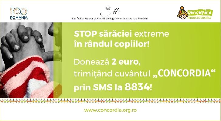 """Campania de SMS """"STOP saraciei extreme in randul copiilor!"""", se desfasoara pana in luna decembrie"""