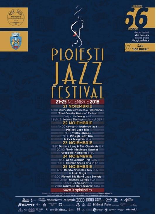 """Incepe a XIII-a ediţie a """"Ploieşti Jazz Festival"""""""