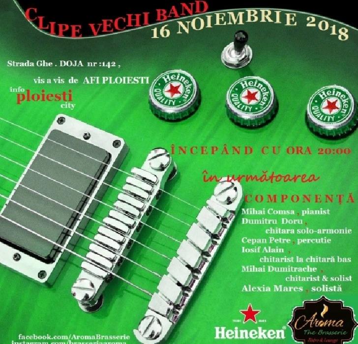 Clipe Vechi Band,vineri seara,la Braseria Aroma Ploiesti