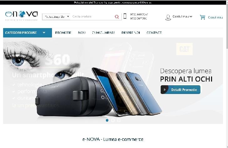 Vand afacere la cheie. Magazin on-line SC E-nova.ro