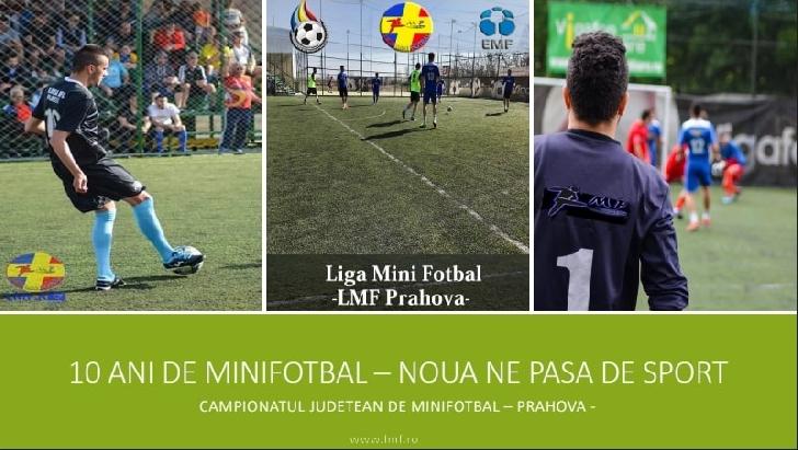 10 ani de minifotbal in judetul Prahova