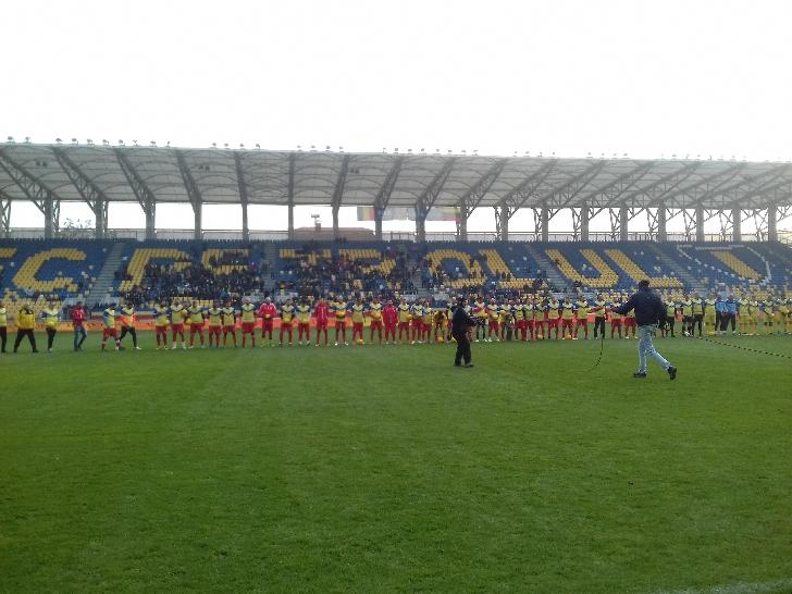 Spectacol fotbalistic total la Gala fotbalului romanesc. Legendele fotbalului - Nationala Artistilor 8-4