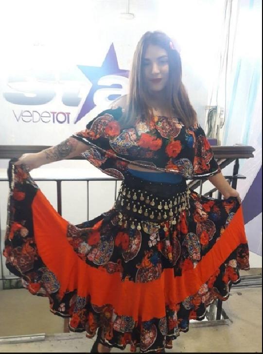 Anda Neytiri  , indragostita de pasiunea ei (dansul )la varsta de 16 ani