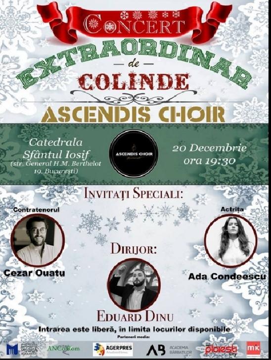 Concert Extraordinar de Colinde  Ascendis Choir