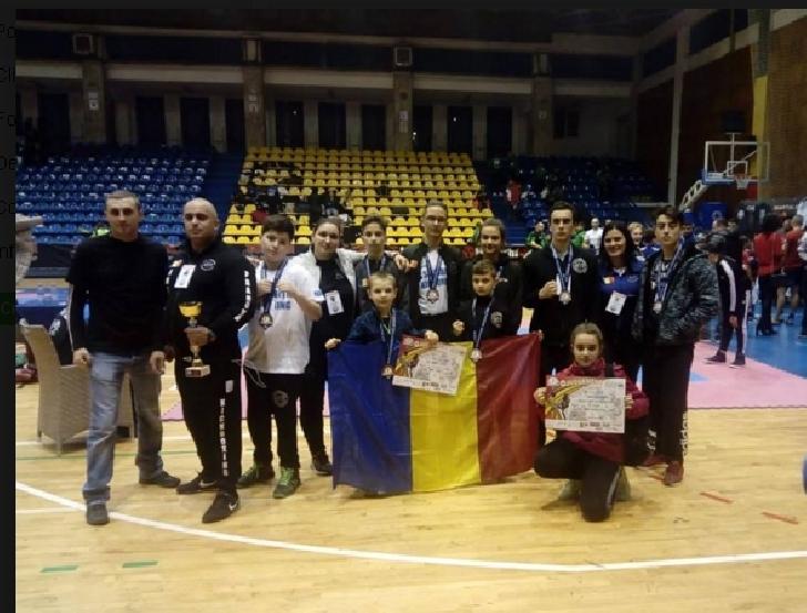 10 medalii pentru sportivii de la ACS AMBIŢIA MMA MADALIN ŞI ACS MĂNEŞTI 2013 la Cupa Mondială Judgement Day