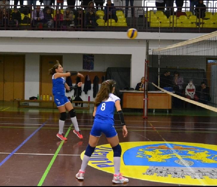 Echipa feminină de minivolei a CSM Ploiesti , punctaj maxim după două turnee