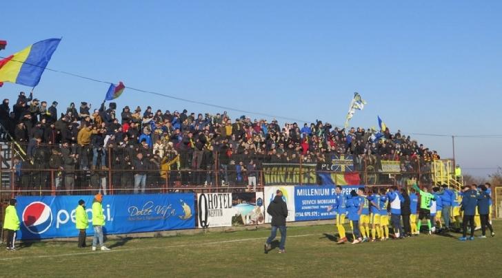 Victorie importanta de Ziua Nationala. Sportul Snagov-Petrolul Ploiesti 0 - 1
