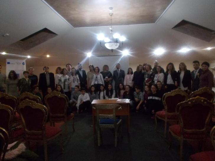 """Seară Erasmus organizată de Şcoala Gimnazială """"Rareş Vodă"""" Ploieşti"""