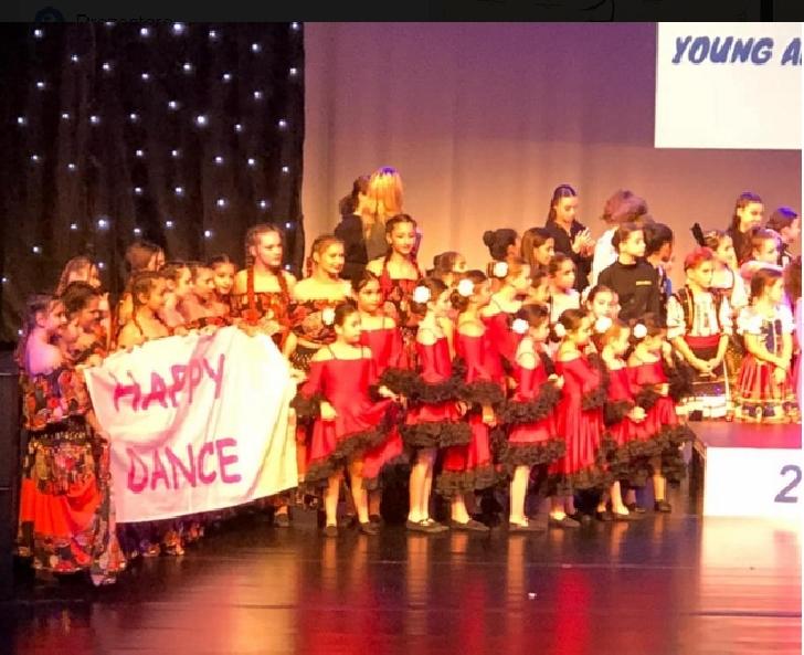 Trupa Happy Dance Ploieşti, locurile 1 şi 3 la Young Artist Grand Prix