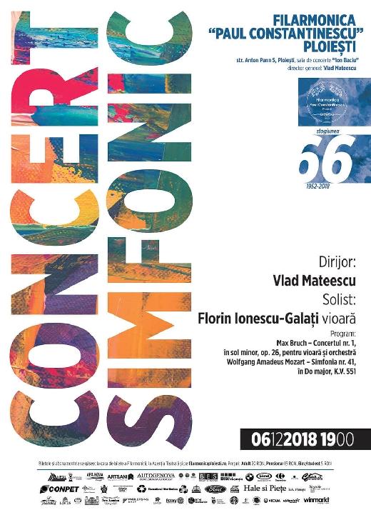 Violonistul Florin Ionescu Galaţi revine, joi, pe scena Filarmonicii ploieştene