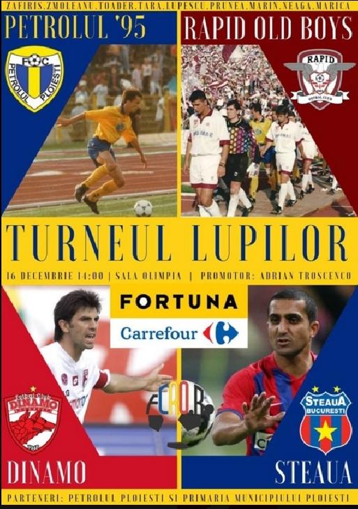 """Cel mai tare turneu de old-boys ,al sfarsitului de an  va fi la Ploiesti,in Sala Sporturilor """"Olimpia """""""