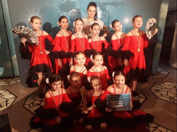 Trupa Happy Dance Ploieşti, două premii importante la Black Sea Dance Star