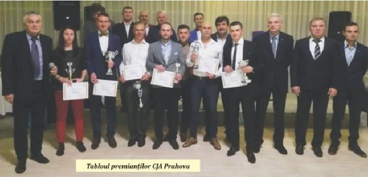 Arbitrii prahoveni au fost premiati pe anul 2018