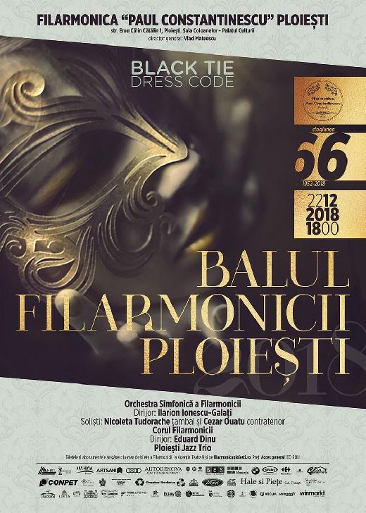 """""""Balului Filarmonicii""""(editia a 2 a ) ,  la Sala Coloanelor a Palatului Culturii"""