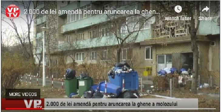 2000 lei amenda pentru cei care arunca  deşeurilor din construcţii la ghena