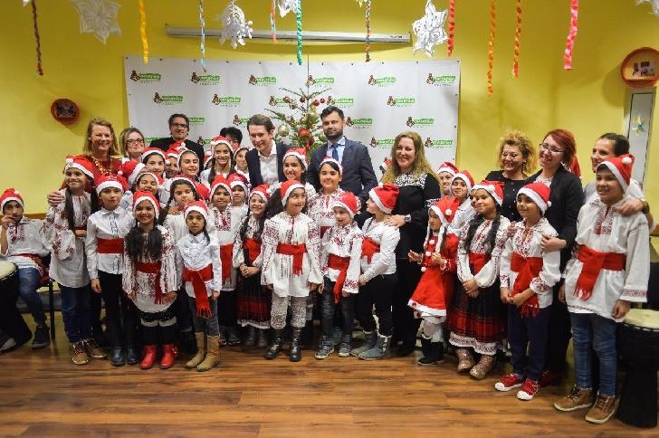 Cancelarul Austriei, Domnul Sebastian Kurz, a vizitat Şcoala de Meserii CONCORDIA şi a înmânat un cec de 300.000 de euro pentru anul şcolar curent