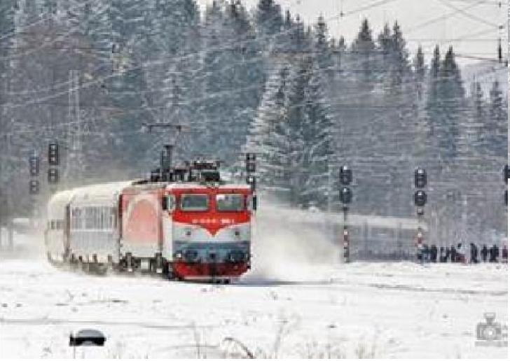 CFR Călători va lansa la data de 8 ianuarie 2019 oferta tarifară de călătorie Trenurile Zăpezii 2019