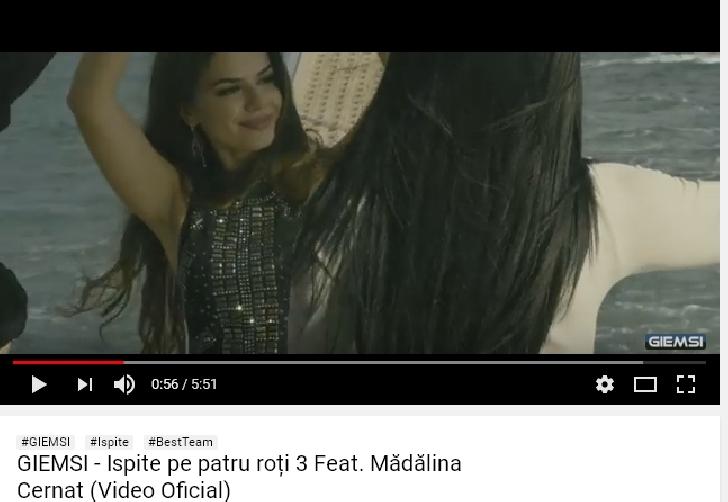 """Ploiesteanca Madalina Cernat a lansat o noua piesa.""""Ispite pe 4 roti 3"""", in colaborare cu Giemsi (Vezi clipul)"""