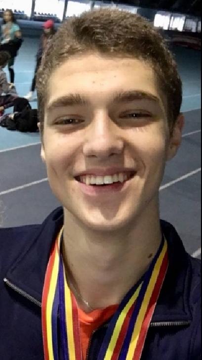 Florin Cristian Nica, viitorul atletismului românesc