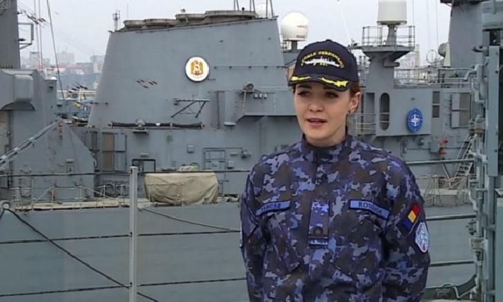 Farcas Stefana ,la doar 26 de ani este capitanul unei nave de 30.000 de cai putere