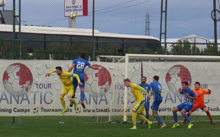 Lupii galbeni au remizat in primul amical al anului . Petrolul Ploiesti -FK Belasica 1-1