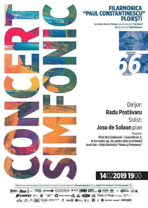 Seară Ceaikovski la Filarmonica