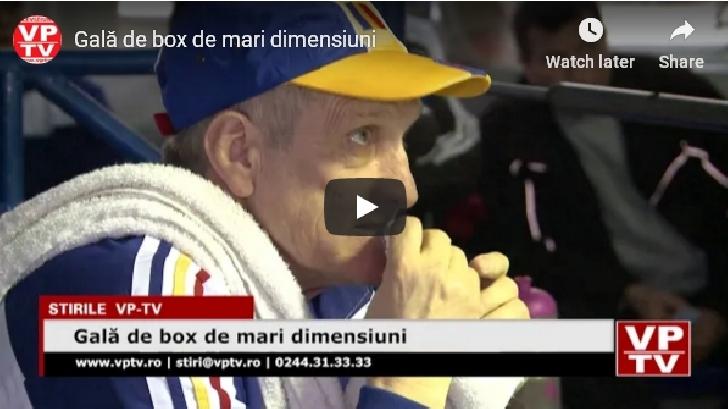 Gală de box de mari dimensiuni la Ploiesti (video )