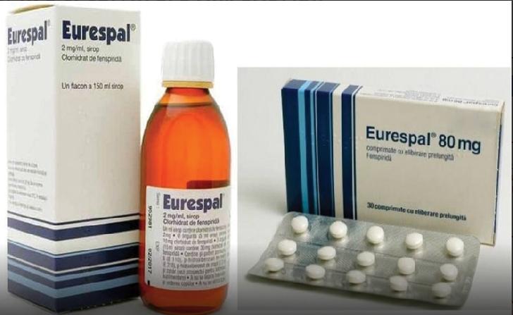 EURESPAL a fost retras de pe piata in toate spitalele si farmaciile din Europa