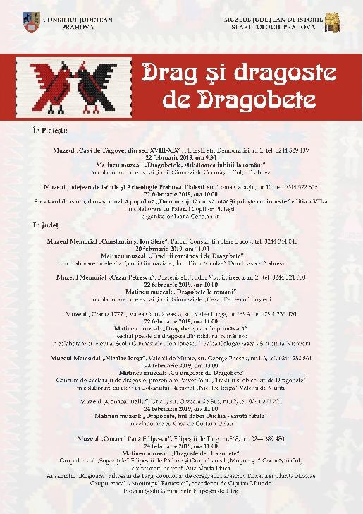 """,,Drag şi dragoste de Dragobete"""",spectacole de dans şi muzică populară la muzeele din Prahova"""